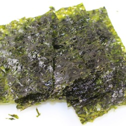 Seasoned seaweed is a great snack high in magnesium.
