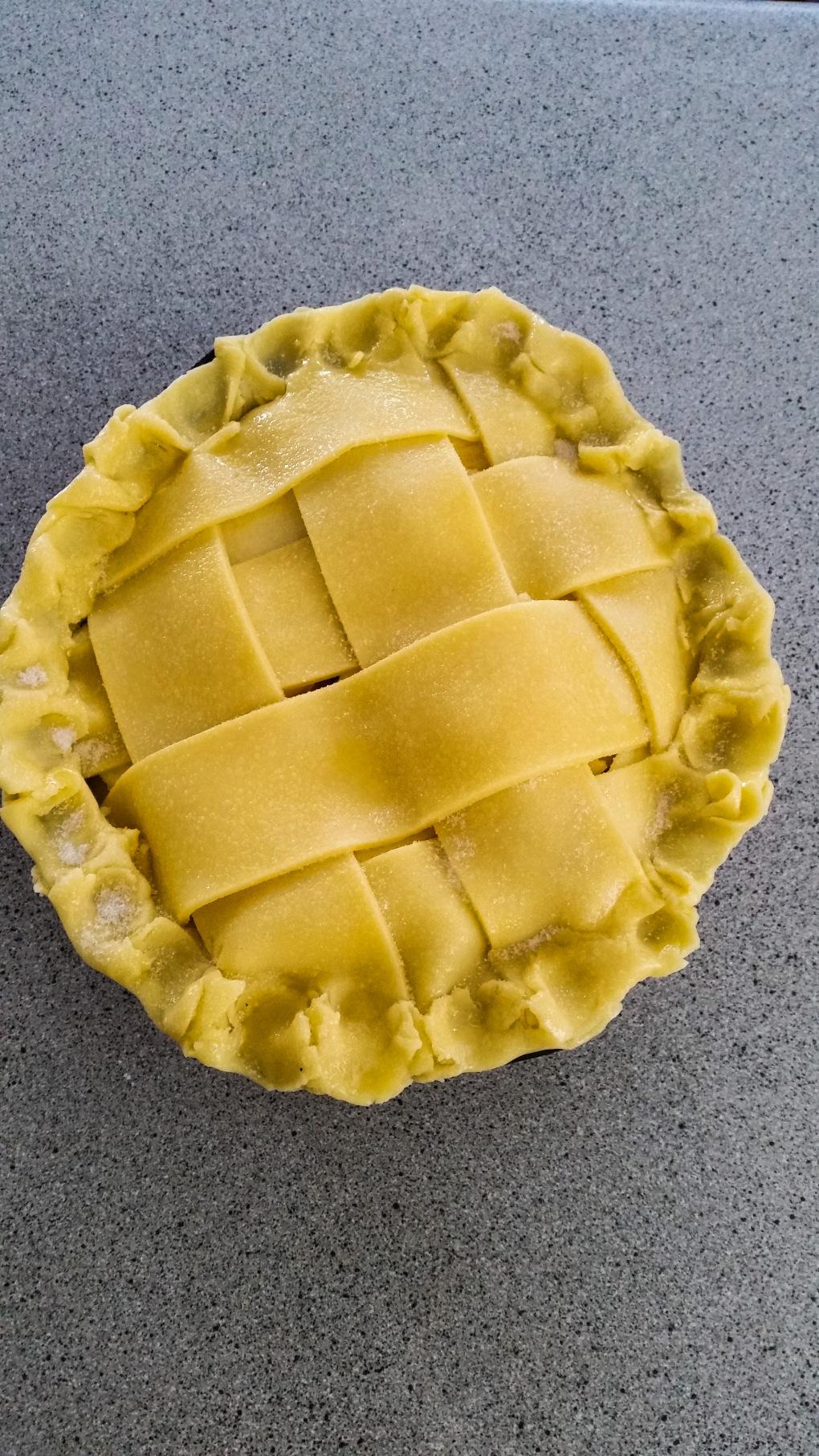 flakey apple pie