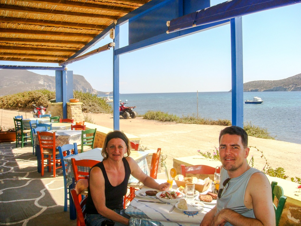 Meal in Greece